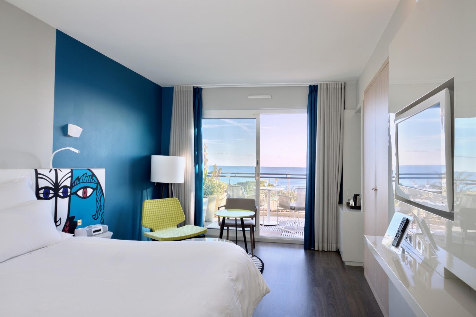 Indogatecom  Chambre Bleu Turquoise Et Beige